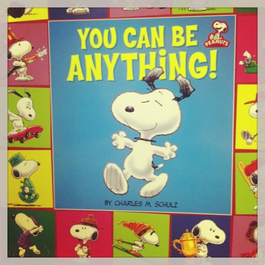 Snoopy is so wise!