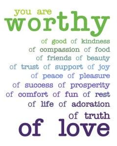 youareworthyof