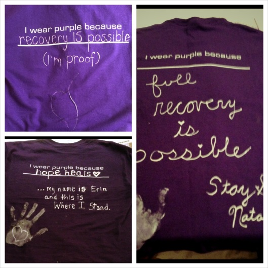 Purple Love T-Shirts!!!
